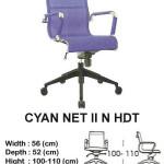 kursi director & manager indachi cyan net II n hdt