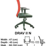 kursi director & manager indachi drav II n