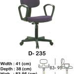 kursi staff & secretary indachi d- 235