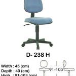 kursi staff & secretary indachi d- 238 h
