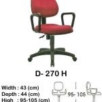 kursi staff & secretary indachi d- 270 h