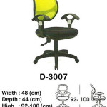 kursi staff & secretary indachi d-3007