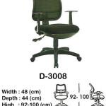 kursi staff & secretary indachi d-3008