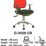 kursi staff & secretary indachi d-3008 cr