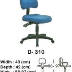 kursi staff & secretary indachi d- 310