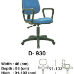 kursi staff & secretary indachi d- 930