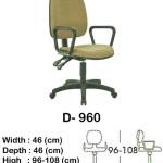 kursi staff & secretary indachi d- 960