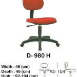 kursi staff & secretary indachi d- 980 h
