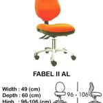 kursi staff & secretary indachi fabel II al