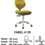 kursi staff & secretary indachi fabel II cr