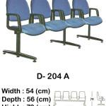 kursi tunggu indachi type d- 204 a