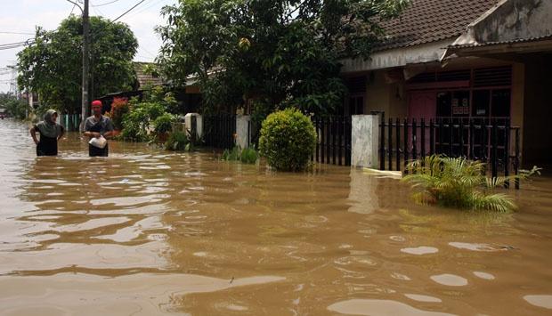 perum puri pamulang banjir